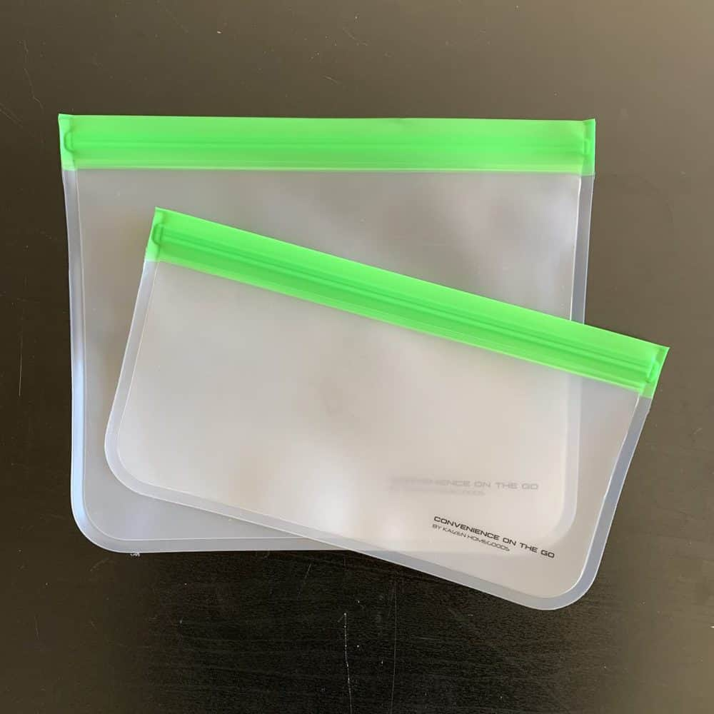 Kaizen Home Goods Reusable Sandwich Bags