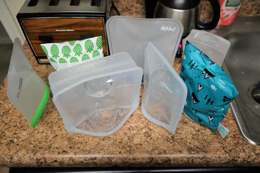 Air drying all the best reusable sandwich bags